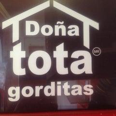 Photo taken at Gorditas Doña Tota by Miss A. on 8/19/2012