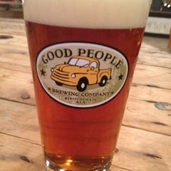 Photo taken at Good People Brewing by Zac on 5/11/2012