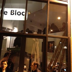 Photo taken at Le Bloc by Adrien M. on 3/14/2012
