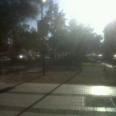 Photo taken at Plaza Antonio Pigafetta by Gxfo on 3/15/2012