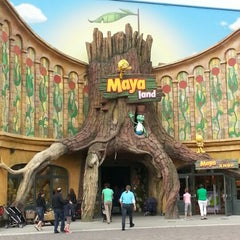 Photo taken at Plopsaland by Dimitri D. on 7/28/2012