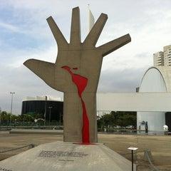 Photo taken at Memorial da América Latina by Michel G. on 4/28/2012