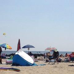 Photo taken at Belmar Beach by Brian F. on 8/31/2012