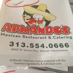 Photo taken at Armando's Mexican Cuisine by Jesse P. on 6/22/2012