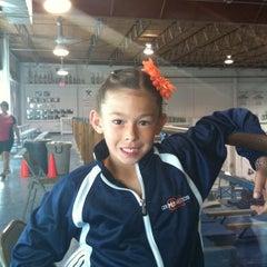 Photo taken at Gymquarters Gymnastics Center by Daniel C. on 5/12/2012