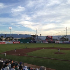 Photo taken at San Jose Municipal Stadium by Remy on 4/18/2012