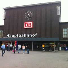 Photo taken at Duisburg Hauptbahnhof by Peter on 7/2/2012