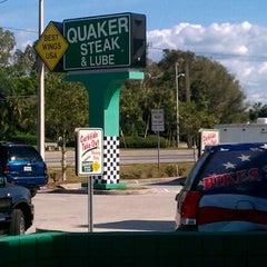 Photo taken at Quaker Steak & Lube by Mark C. on 3/18/2012