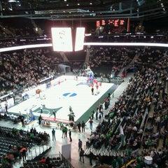 Photo taken at Žalgirio Arena   Zalgiris Arena by Arnoldas B. on 5/6/2012