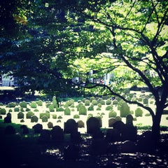 Photo taken at Granary Burying Ground by Patrick E. on 7/6/2012