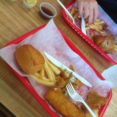 Photo taken at Broaster Chicken by Caitlin N. on 6/7/2012