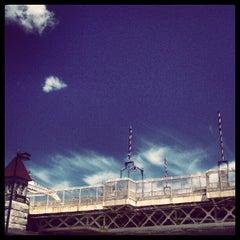 Photo taken at Macombs Dam Bridge by Michael V. on 6/27/2012