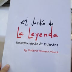 Photo taken at El Jardín de la Leyenda by DeltaNovember on 7/7/2012
