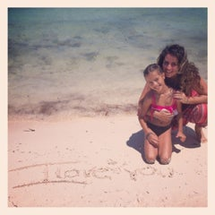 Photo taken at Playa Langosta by Mel B. on 4/28/2012