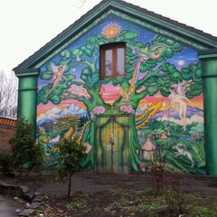Photo taken at Christiania by Olya S. on 4/1/2012