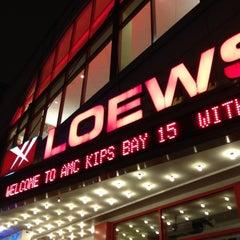 Photo taken at AMC Loews Kips Bay 15 by Brian H. on 5/4/2012