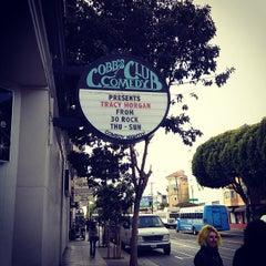 Photo taken at Cobb's Comedy Club by Tatsuhiko M. on 5/22/2012