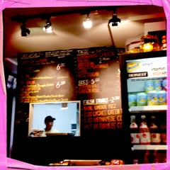 Photo taken at Xe Máy Sandwich Shop by LaLa S. on 6/23/2012