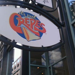 Photo taken at It's Just Crepes by Michael M. on 6/7/2012