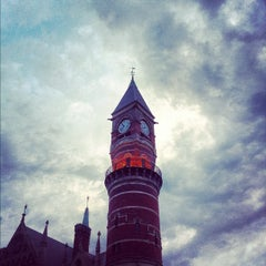 Photo taken at New York Public Library - Jefferson Market by Ong A. on 8/12/2012