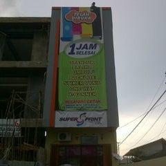 Photo taken at Super Print by Galih S. on 3/1/2012