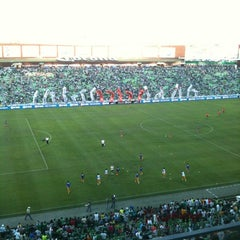 Photo taken at Territorio Santos Modelo Estadio by Garufox on 5/14/2012
