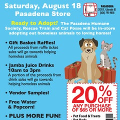 Photo taken at Centinela Feed and Pet Supplies by Pasadena Humane Society & SPCA on 8/17/2012