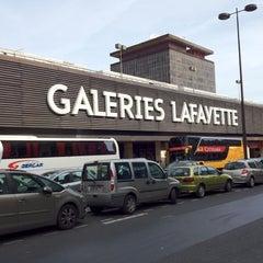 Photo taken at Galeries Lafayette Montparnasse by Mihail on 8/13/2012