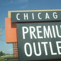 Photo taken at Chicago Premium Outlets by Tonina R. on 9/3/2012