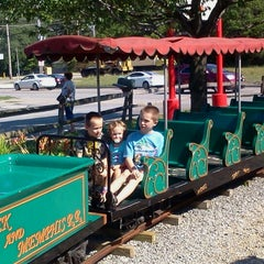 Photo taken at Memphis Kiddie Park by Ken S. on 7/9/2012