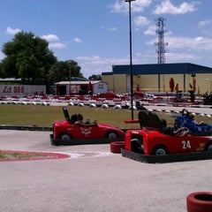 Photo taken at Lil 500 Go Karts by Tim L. on 4/7/2012