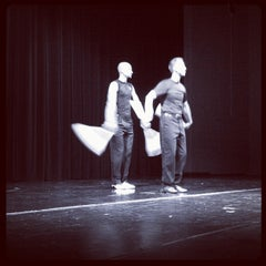 Photo taken at Rockhurst High School Rose Theatre by Allan C. on 9/2/2012