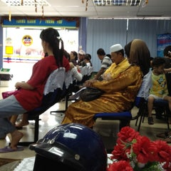 Photo taken at Jabatan Pendaftaran Negara by Augustine C. on 8/24/2012