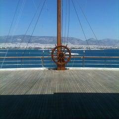 Photo taken at Ναυτικός Όμιλος Ελλάδος (Yacht Club of Greece) by Niki on 6/20/2012