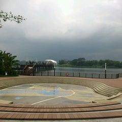 Photo taken at Lower Seletar Reservoir Park by A J L. on 2/18/2012