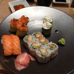 Photo taken at Sushi Shop by Aurélie S. on 9/3/2012