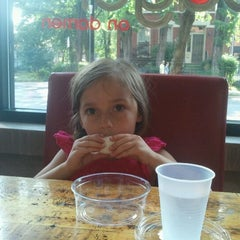 Photo taken at Bagel on Damen by Sam Y. on 5/28/2012