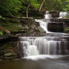 Photo taken at Buttermilk Falls State Park by Witley N. on 8/2/2012