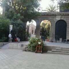 Photo taken at Universidad Alberto Hurtado by Benjamín R. on 3/16/2012