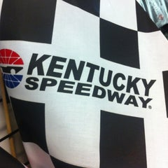 Photo taken at Kentucky Speedway by Becky on 5/26/2012