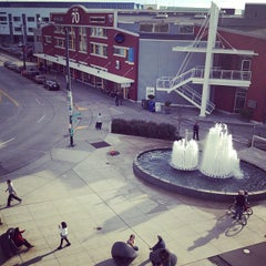 Photo taken at Father & Son Fountain by James K. on 2/5/2012