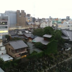 Photo taken at Hotel Alpha Kyoto ホテルアルファ京都 by Wasaku S. on 7/21/2012