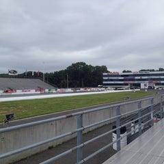 Photo taken at Old Bridge Township Raceway Park by Doug H. on 6/17/2012