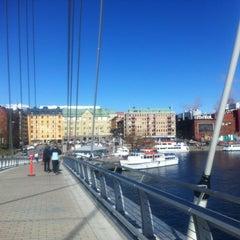 Photo taken at Laukonsilta by Sakari K. on 4/29/2012