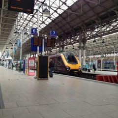 Photo taken at Manchester Piccadilly Railway Station (MAN) by matthew h. on 9/7/2012
