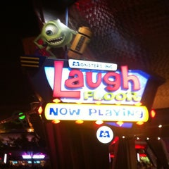Photo taken at Monsters, Inc. Laugh Floor by Jake L. on 4/1/2012