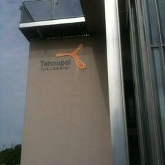 Photo taken at Tallinn Science Park Tehnopol HQ by Mark T. on 6/1/2012