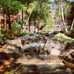 Photo taken at Mears Park by Alaine D. on 7/7/2012