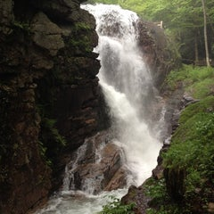 Photo taken at Flume Gorge by Wesley B. on 5/30/2012