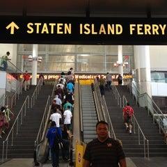 Photo taken at Staten Island Ferry Boat - Andrew J. Barberi by Vinci F. on 7/19/2012